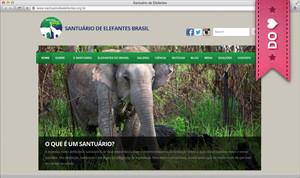 site Santuário de Elefantes