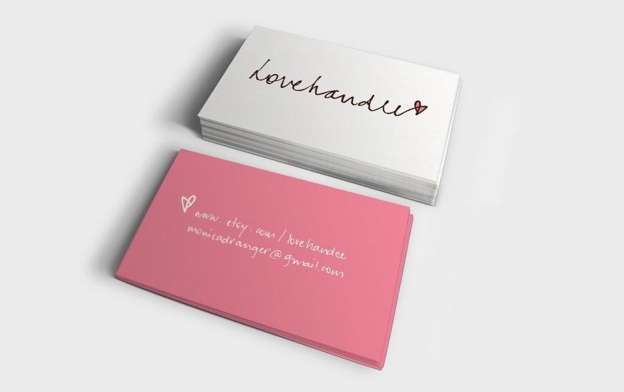 cartão lovehandee
