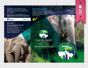 folder Santuário de Elefantes