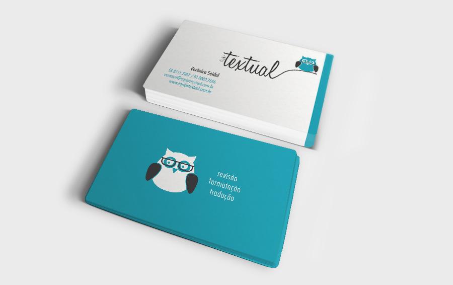 cartão Equipe Textual