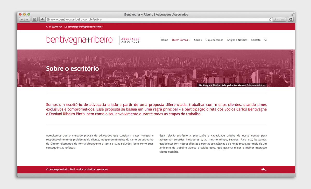 Site Bentivegna + Ribeiro