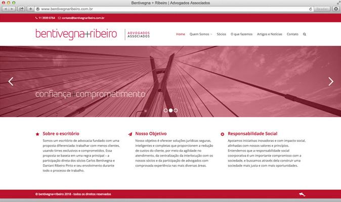 Site Bentivegna+Ribeiro