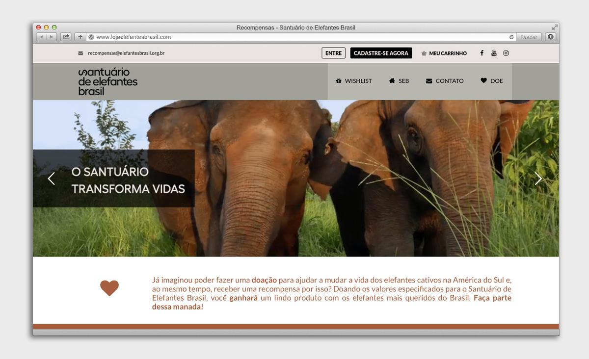 Lojinha – Santuário de Elefantes Brasil
